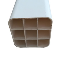 China Manufacturers Standard Sizes PVC Square Electrical Conduit Pipe