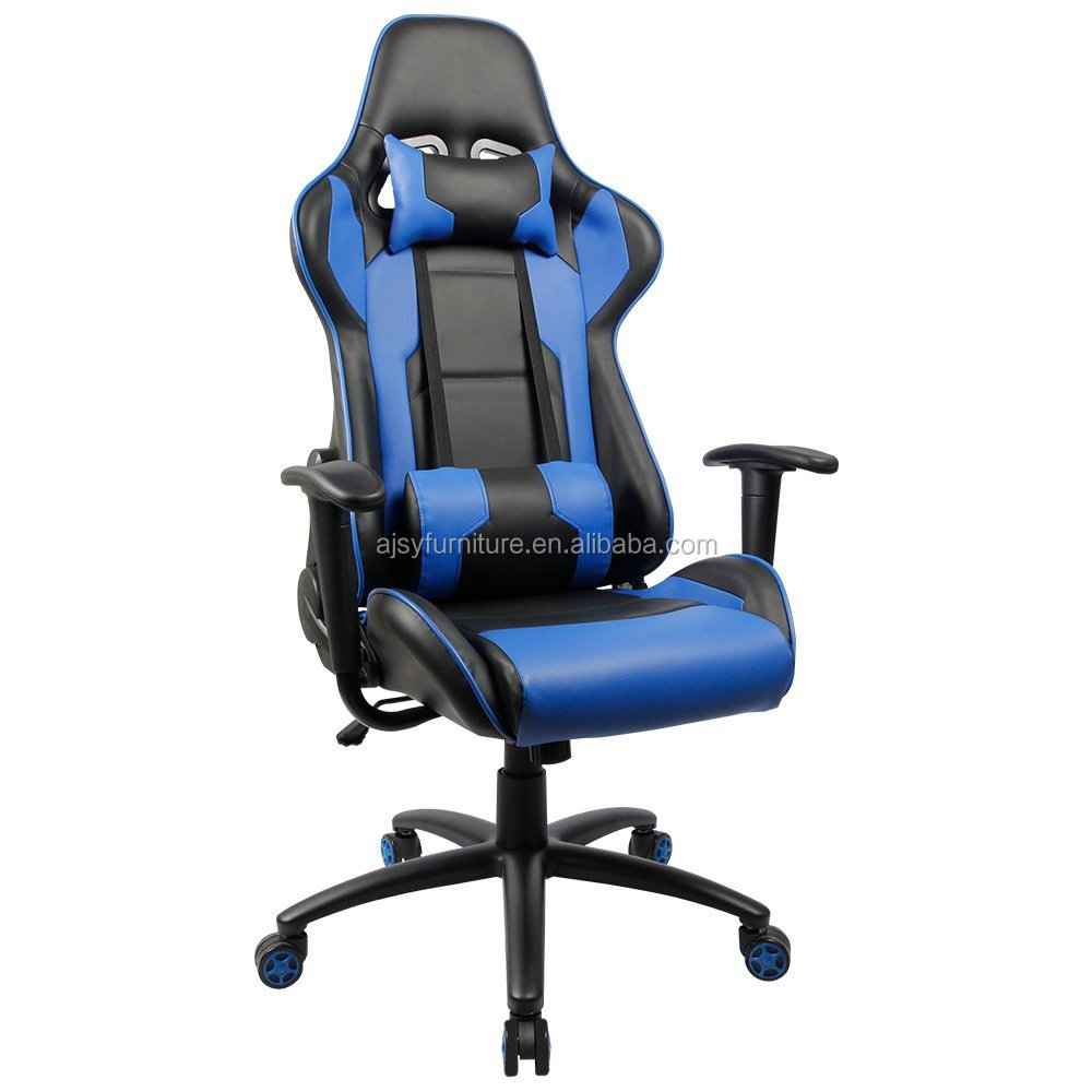 Pu leather comfortable gaming office chair,race style leisure gamer chair