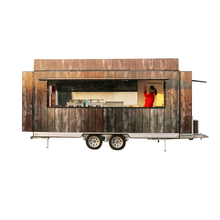 FV-55 churros food trailer food push cart electric heated food cart