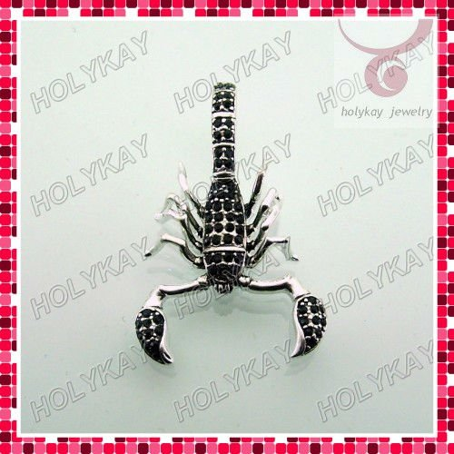 Scorpion charms,designer jewelry,3d animal charms