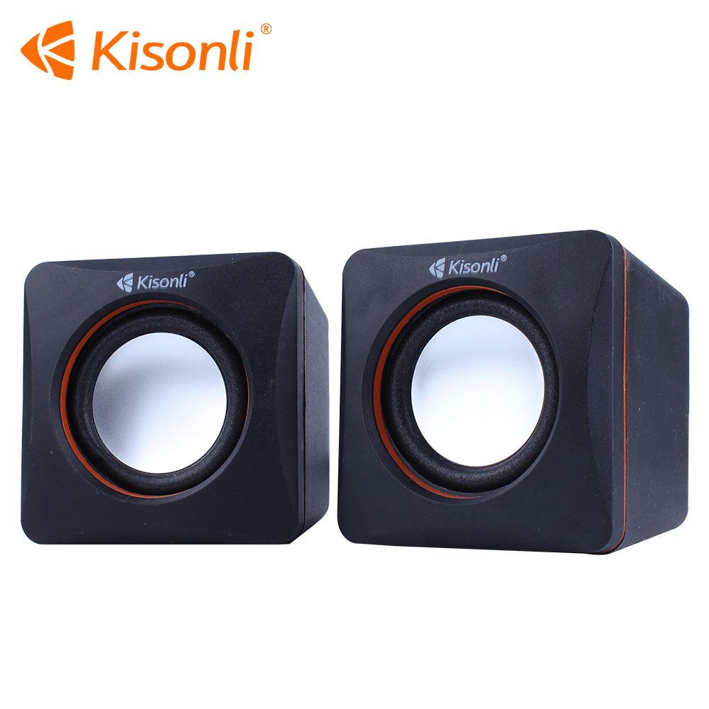 Computer Accessories 2.0 Mini Active Sound Speaker Box For Computer/Laptop