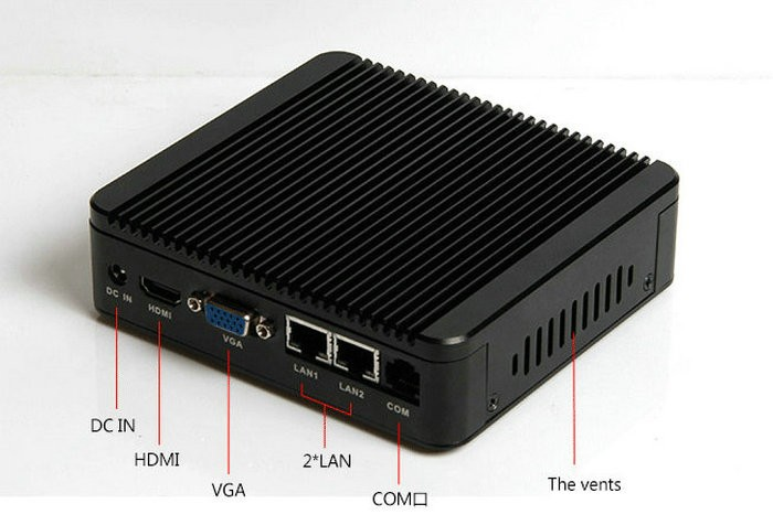 Brand New Aluminum Fanless Intel j1800 Dual Core Mini PC