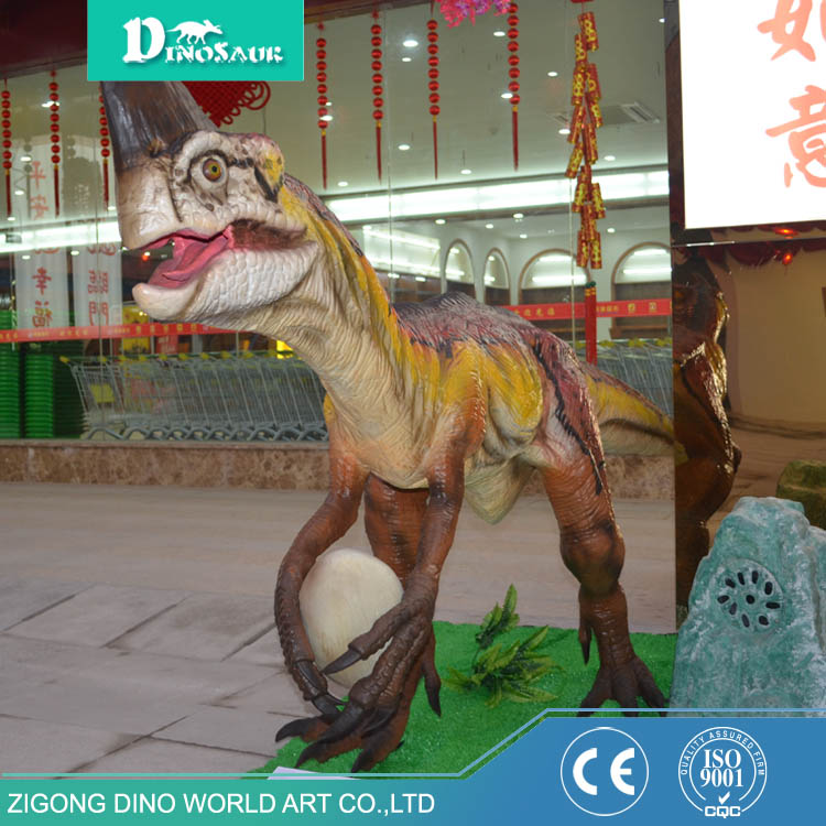 Indoor Amusement Park Display Animatronic Dinosaur