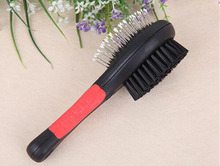 Double Sides Dog Cat Comb Pet 2 Faces Puppy Brush Pet Fur Grooming Tool For Long & Short Hair Dogs