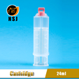 24ml 1:1 Dual Plastic Dental Silicone Injection Syringe