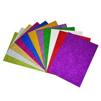 Raco Wholesale Price Crafts Adhesive Backed Specialty Glitter Paper for Card Making