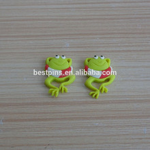 glow in the dark fridge magnets custom cute life buoy & frog shape with soft magnet