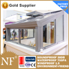 Thermal Break Aluminium Profiles Sunroom Conservatory
