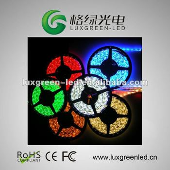SMD5050 60leds/m 5m/reel LED strip with 3 years warranty
