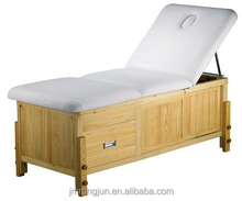 luxury wooden bed / wooden spa massage table / wood massage bed RJ-6622