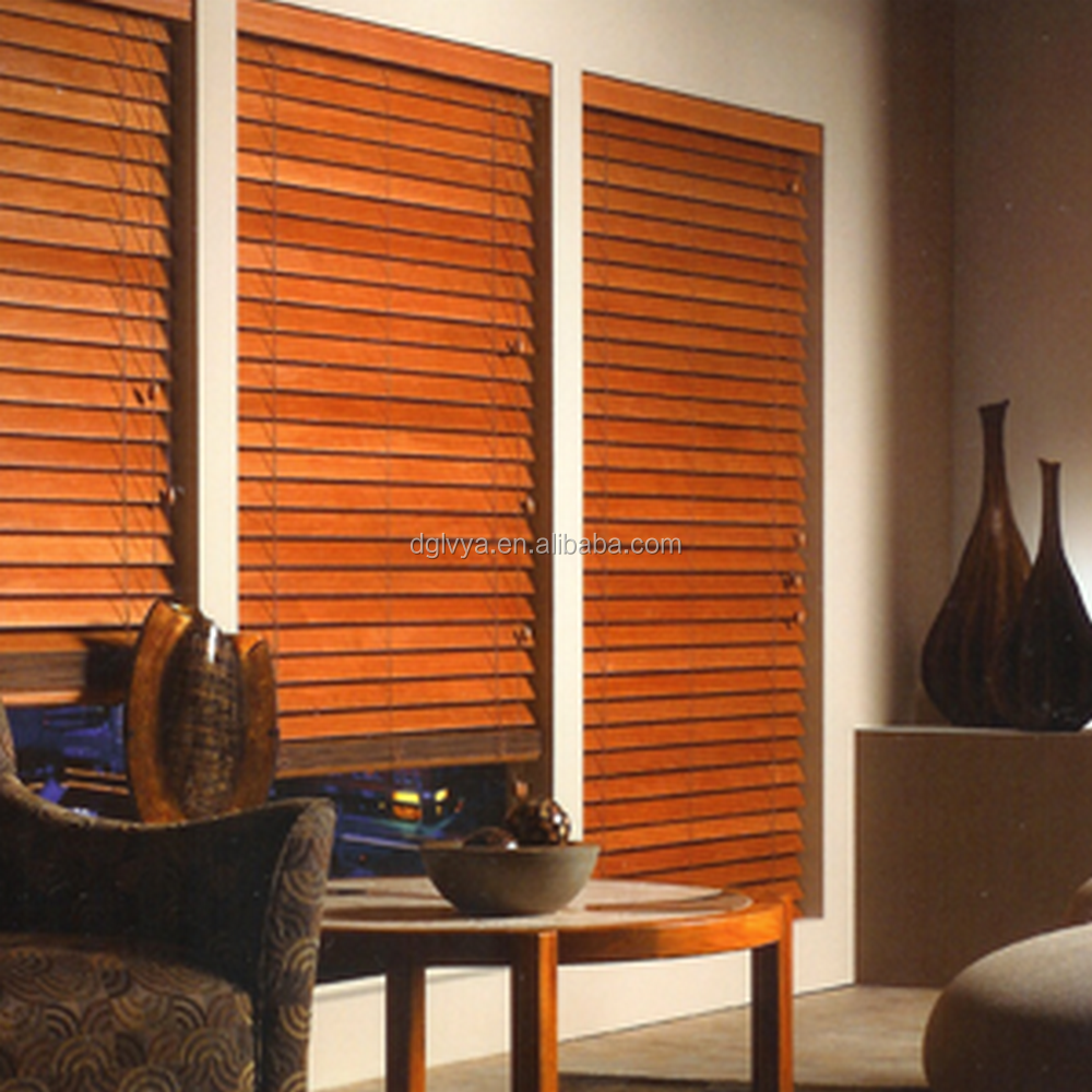 50mm Wood Plantation Blinds, Shades and Window Treatments