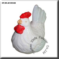 ceramic chicken figurine