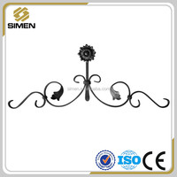 wrought iron railing parts/decorative metal rosettes/cast iron rosettes