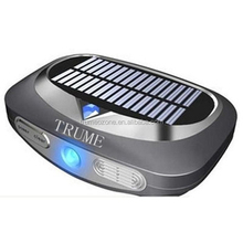 plasma air purifier Car ozone hepa uv ion solar air purifier