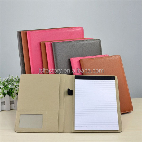 A4 professional handmade paper file folder a4 size with calculator