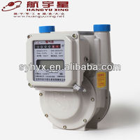 Temperature Compensation Smart IC Card Prepayment Aluminium Case Gas Meter G2.5 MID Quality