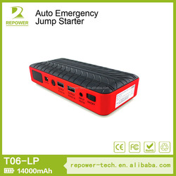 Alibaba Top Supplier Car Lithium Battery Jumper Starter, High Power Jump Booster