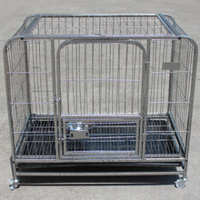 Dog Cage Crate Suitcase Folding Animal Kennel