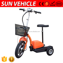 Wear-Resisting Tyres Portable Industrial Three Wheel Electric Scooter