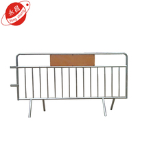 Cheap galvanized crowed control pedestrian barriers