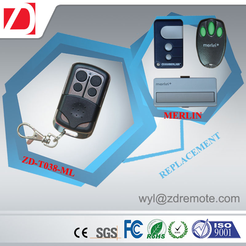 replacement rolling code remote control for automation