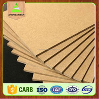 melamine mdf board to make wooden furniture/raw mdf