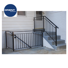 Aluminium Balustrades stair handrails aluminum decking railings decorative indoor stair railings