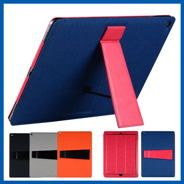 C&T Ultra Thin Slim Magnetic Leather Stand Smart Cover Case for iPad Pro