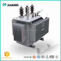 Power connectivity used 3 phase oil filled electrical transformer 250kva
