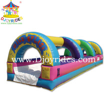 Kids favorite Colorful design inflatable water slides wholesale