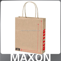 Guangdong factory Nice!!! mini gift brown kraft paper bags for store