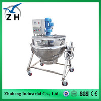 mung bean jacketed kettle diesel steam boiler yellow electric kettle