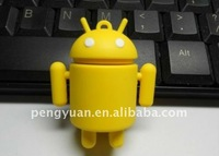promotional gift cute robot android usb key