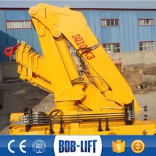 Used 10 ton hand operated truck with crane manually for sale