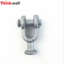 Thinkwell Forged Pole Line Hardware Customized HDG Ball Clevis