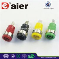 Daier male banana plug with female bnc adaptor