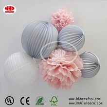 Wedding decoration giant paper flower tissue paper pompom