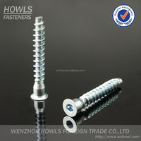 High quality confirmat screw carbon steel ZP hex socket furniture screw