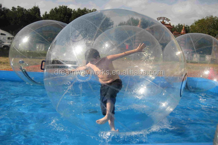 water climb ball/PVC bubble roller/inflatable water walking ball for sale