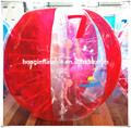 Qihong latest toy craze PVC inflatable body bumper ball, bubble ball for sale