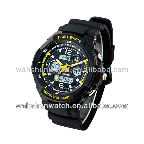 2013 dual time chronograph sports brand g body watch men
