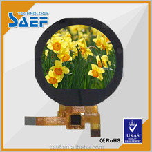 1.22 inchIPS circle small display lcd screen SPI interface all viewing angle