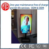 Certified with CE, ISO, FCC Indoor application 1080p hd wifi digital signage with windows system I3