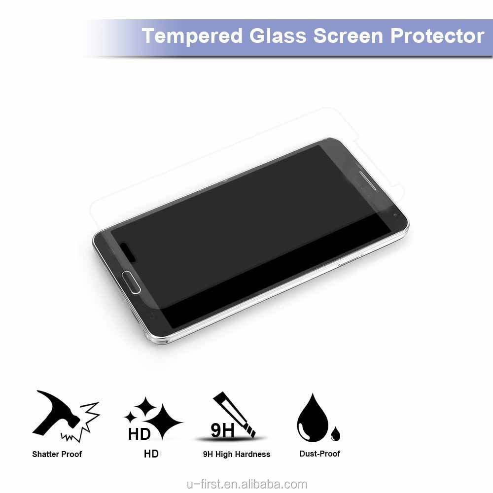 Top selling high clear Premium Real Tempered Glass Screen Protector For Samsung Galaxy S5