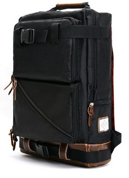 New style black laptop backpack for leisure or school