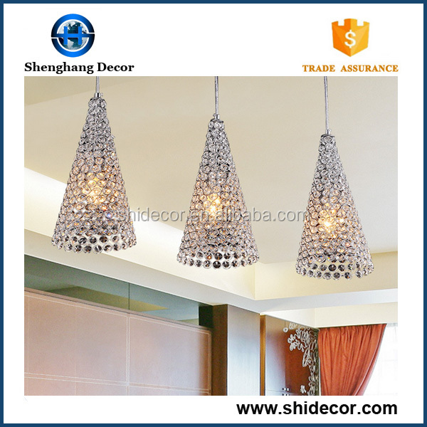 Crystal chandelier bar decorating pendant lights indoor lighting good quality china small lamp