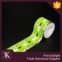 Heat Seal Metalized Candy Wrappers Laminated Candy Roll Film