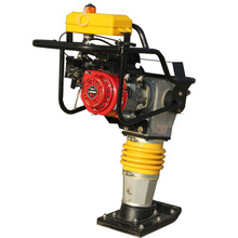 CE Vibrating gasoline sand tamping rammer compactor 15KN jumping jack earth rammer