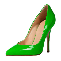 Merumote 2016 Simple Design Large Size Green High Heels 42 43 44 45 46 For Women