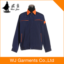 Winter flame resistant workwear hospital hotel housekeeping uniform